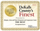 DeKalb County Best of Best Acupuncture in Sycamore IL
